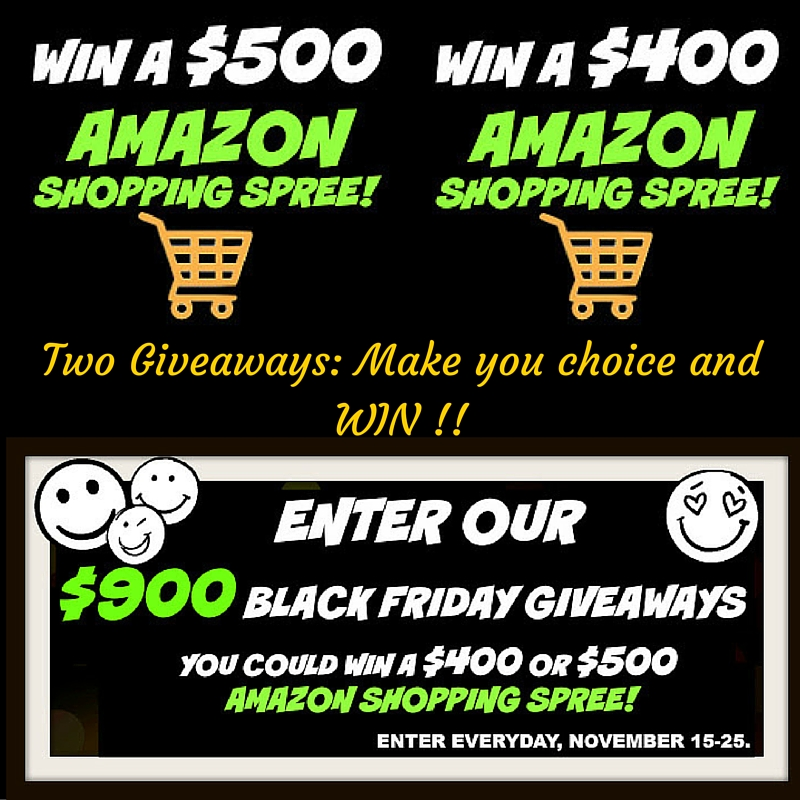 Celebrating #Book Promotion & $900 in #BlackFriday #Giveaways
