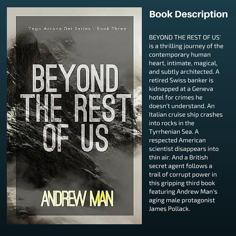 Beyond the Rest of Us by Andrew Man #SciFi #SpecFic #Thriller