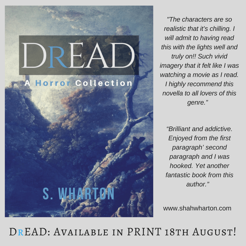 Dread: A #Horror Collection available in PRINT! Please spread the word. ;) #Amreading