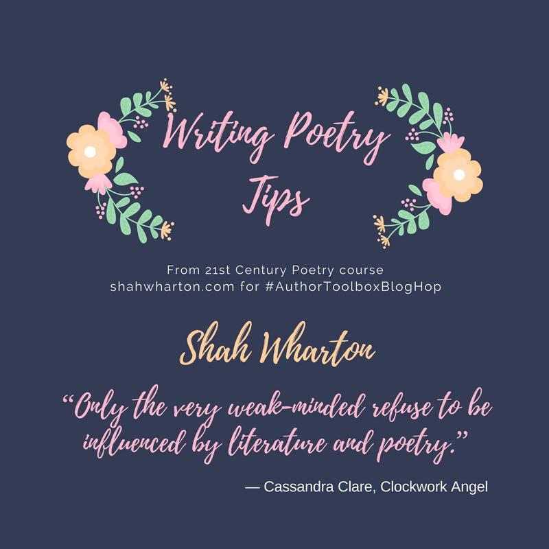 #AuthorToolboxBlogHop: Poetry Writing Tips Part 1
