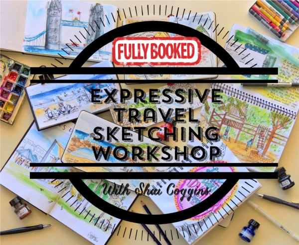 Expressive Travel Sketching Workshop is Now Fully Booked!