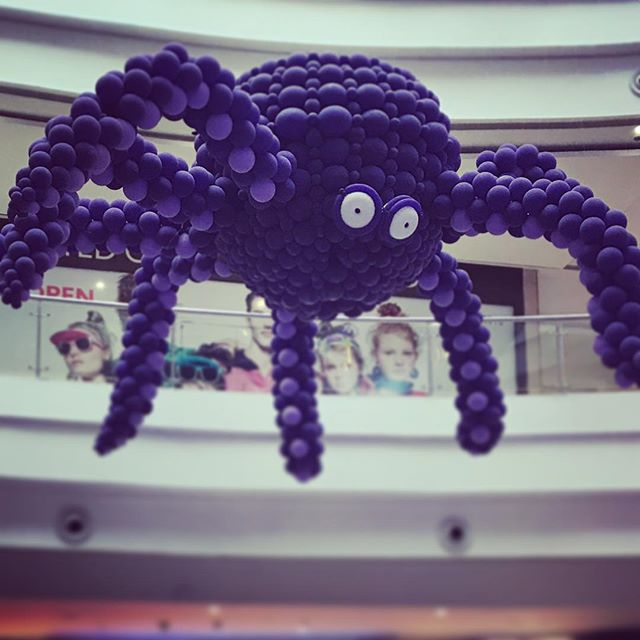 #spider #baloons