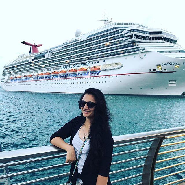 The carnival spendor! #cruise #sea #caribbean
