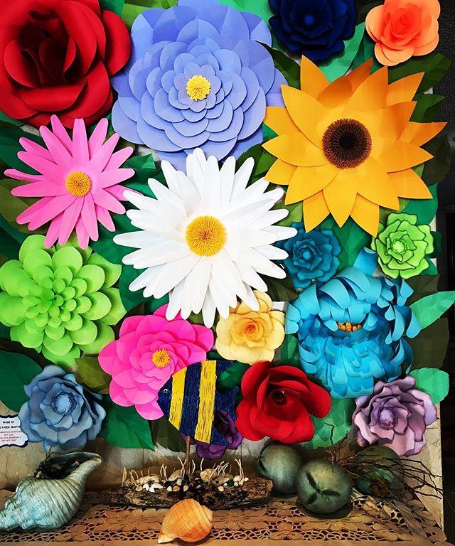 #colours #flowers #paperflowers #creativityfound