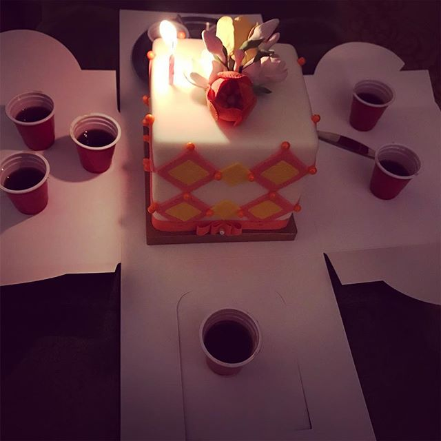 Birthday's in Vegas! #birthday #vegas #cake