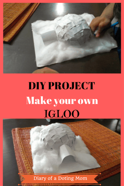 Make Your Own Igloo At Home A Diy Project For School