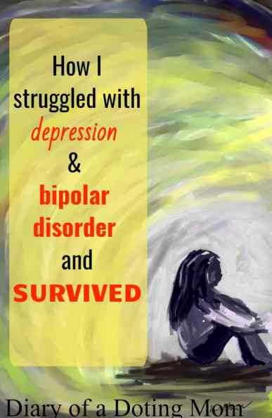 Depression & bipolar disorder are mental illneses that can take their worst toll on the mind and body. I should know. I went through it and lived to tell the tale. #MentalHealth #Depression