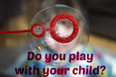 play with your kids