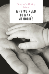 Making memories with our kids is very important