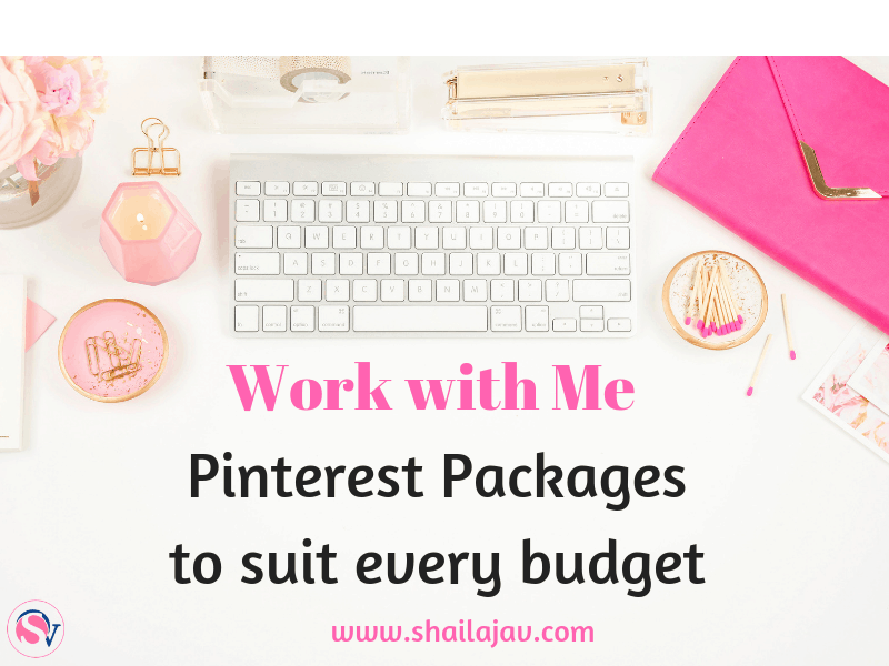 Pinterest Packages by Shailaja V- For beginners as well as advanced users of Pinterest