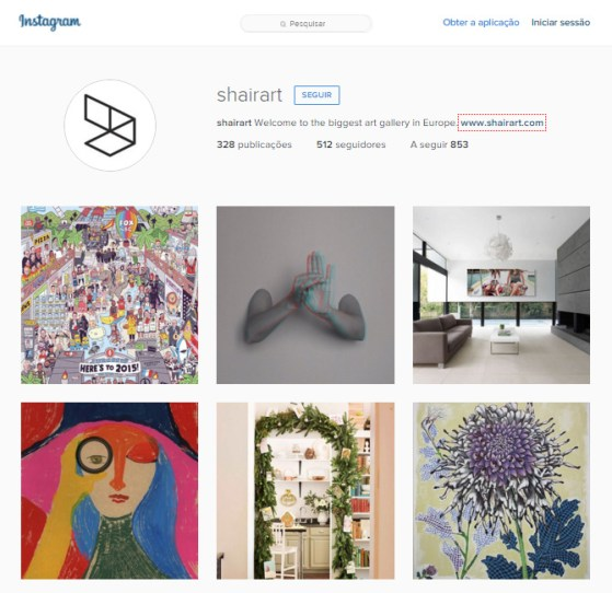 Art on social media - Online Art Galleries