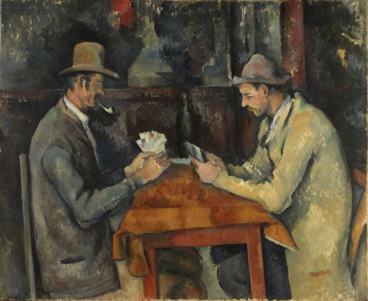 Cezanne -The Card Players - Famous Artworks