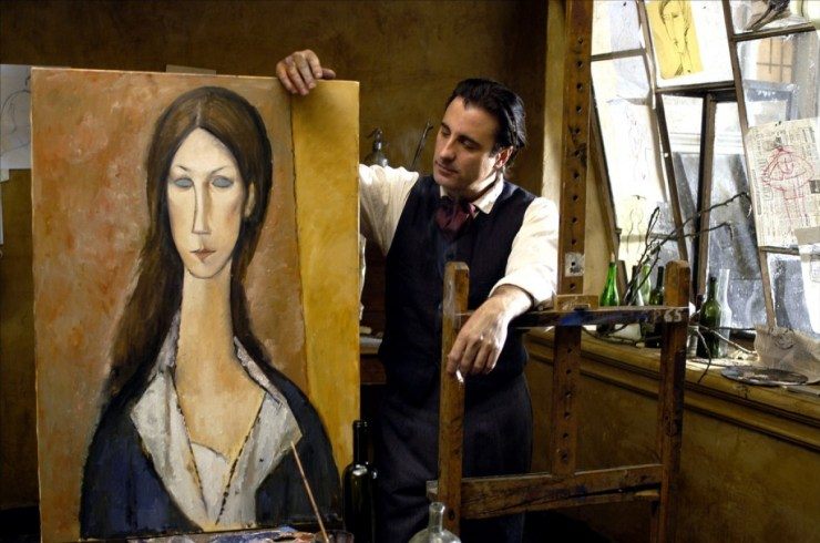 Modigliani - films related to art