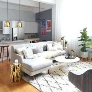 Best Apartment Living Room Layout and Decorating Tricks - SHAIROOM.COM