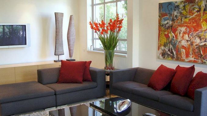DIY Apartment Living Room Layout and Decor Part 8