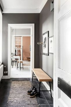 30 DIY Apartment Wall Color and Decoration - Get more Ideas in our gallery | #homedesign #homestyle #homedecor #apartmentinterior #apartmentcolor #apartmentinterioridea #apartmentdecoratingidea Part 29