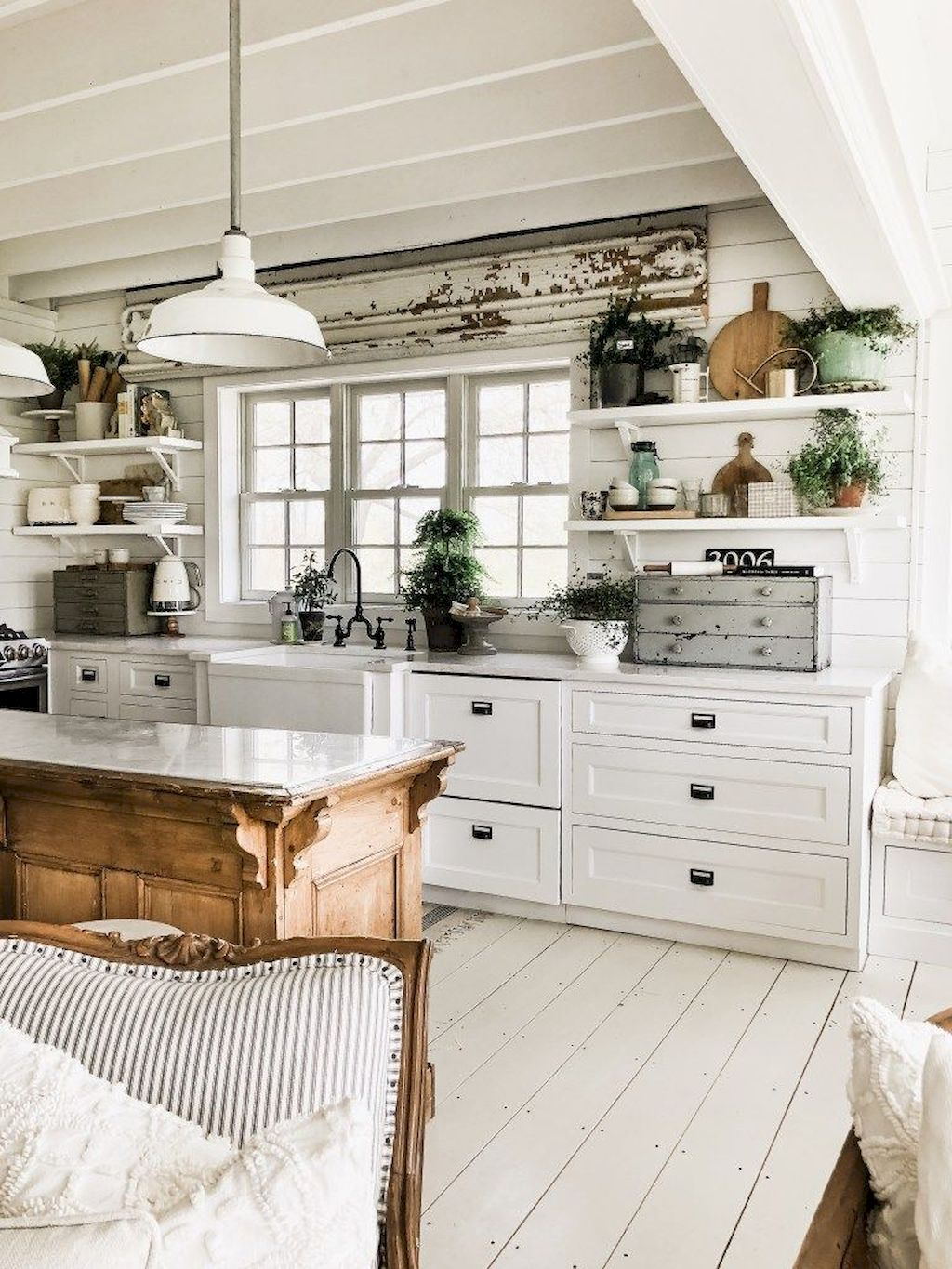 Farmhouse Kitchen Elements DIY project Part 8