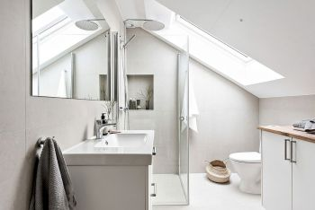 Scandinavian Bathroom Ideas for DIY Remodel Part 15