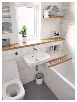 70+ Tiles Ideas for Small Bathroom - Get more Ideas in our gallery | #smallbathroom #bathroomdecoration #bathroomideas #bathroomtiles #bathroomdecor #homedecor