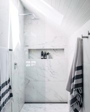 70+ Tiles Ideas for Small Bathroom - Get more Ideas in our gallery | #smallbathroom #bathroomdecoration #bathroomideas #bathroomtiles #bathroomdecor #homedecor (67)