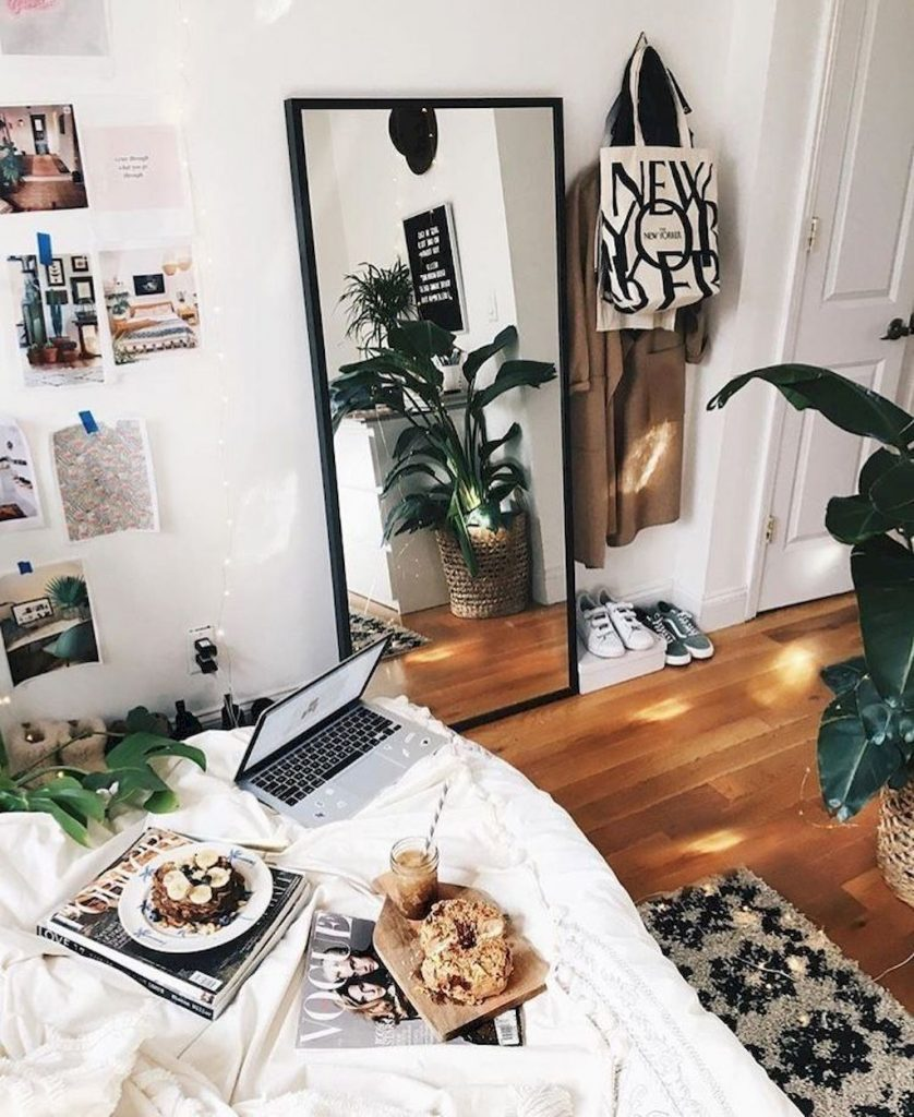 Simple tips for low budget bedroom makeover with classy curtain design and inspiring reading spot. Bedroom Makeover Idea  Part 22