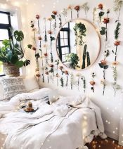 Simple tips for low budget bedroom makeover with classy curtain design and inspiring reading spot. Bedroom Makeover Idea Part 26