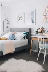 Simple tips for low budget bedroom makeover with classy curtain design and inspiring reading spot. Bedroom Makeover Idea Part 37