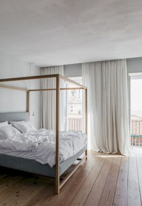Simple tips for low budget bedroom makeover with classy curtain design and inspiring reading spot. Bedroom Makeover Idea Part 44