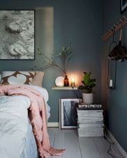 Simple tips for low budget bedroom makeover with classy curtain design and inspiring reading spot. Bedroom Makeover Idea Part 51