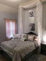 Simple tips for low budget bedroom makeover with classy curtain design and inspiring reading spot. Bedroom Makeover Idea Part 56