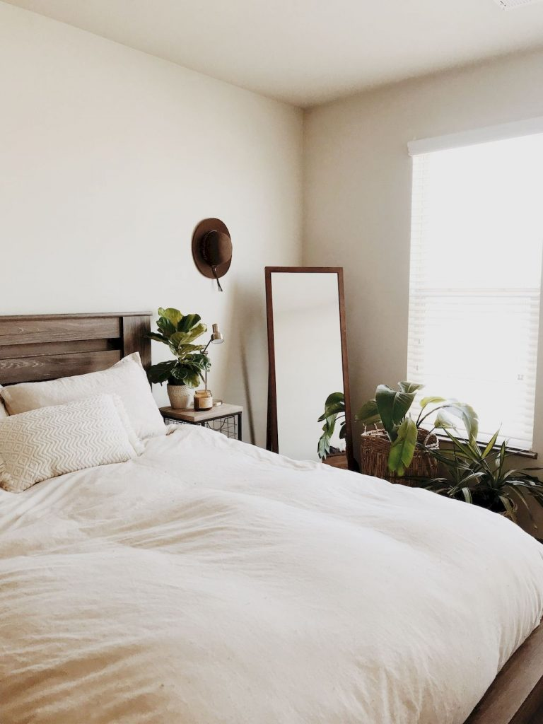 Simple tips for low budget bedroom makeover with classy curtain design and inspiring reading spot. Bedroom Makeover Idea  Part 59
