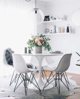 52 Beautiful Small Ideas On A Budget Dining Room (13)