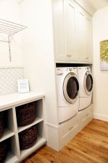 55 Best Small Laundry Room Photo Storage Ideas (30)
