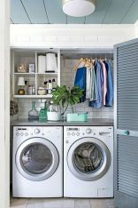 55 Best Small Laundry Room Photo Storage Ideas (32)