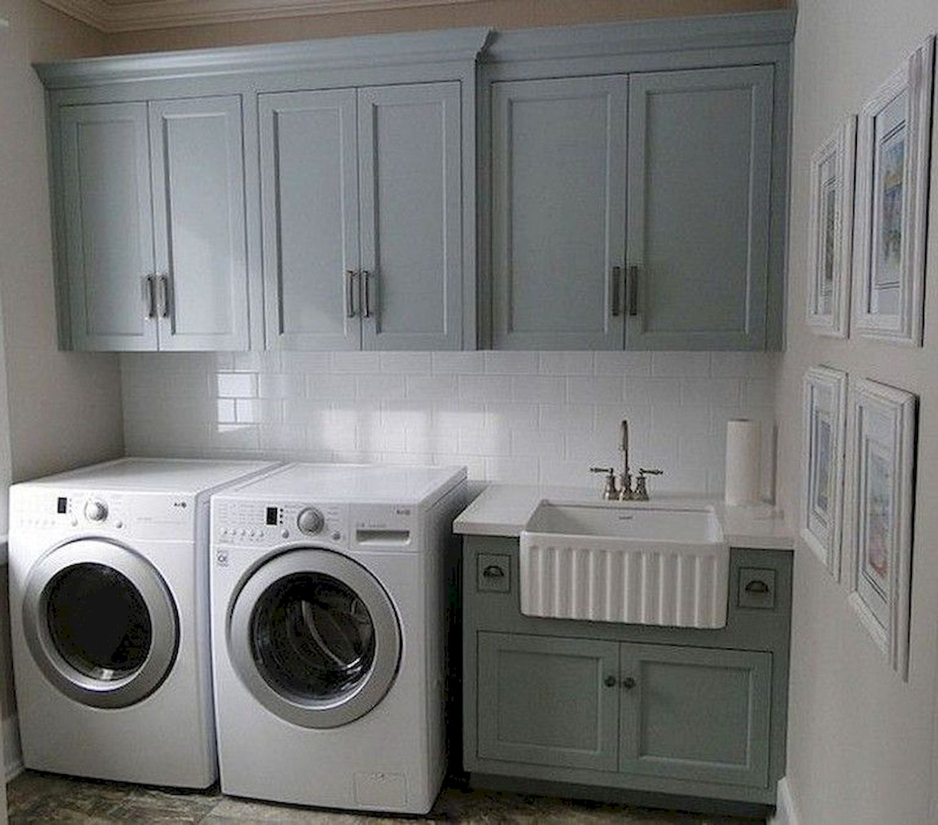 55 Best Small Laundry Room Photo Storage Ideas (4)