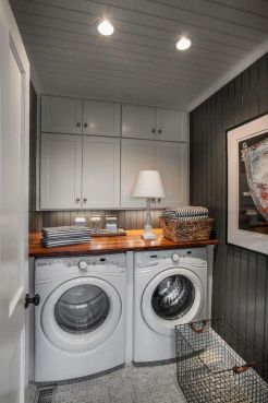 55 Best Small Laundry Room Photo Storage Ideas (53)