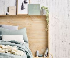 Affordable Minimalist Bedroom Ideas with Ultra Cozy Bed Designs Part 24