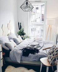 Awesome Small Bedroom Decorating Ideas On A Budget (12)
