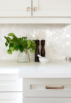 Bright Kitchen with White Kitchen Concept that Never Look Boring Part 13