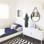 On Budget Single Bedroom Designs with Ultra Comfort and Lively Vibes Part 18