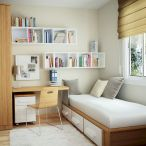 On Budget Single Bedroom Designs with Ultra Comfort and Lively Vibes Part 32