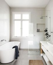 Stunning Small Bathroom Ideas On A Budget (21)