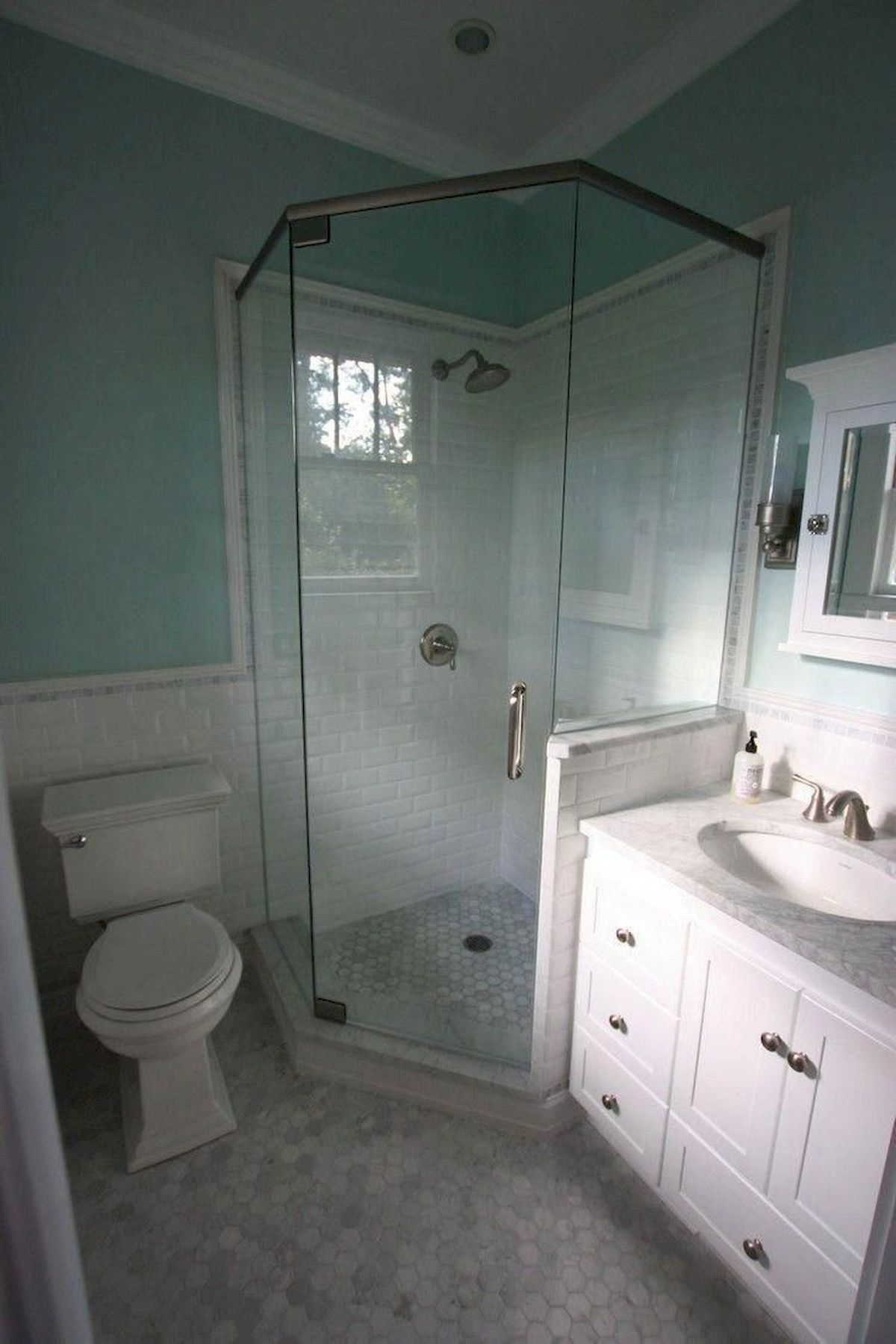 Stunning Small Bathroom Ideas On A Budget (24)