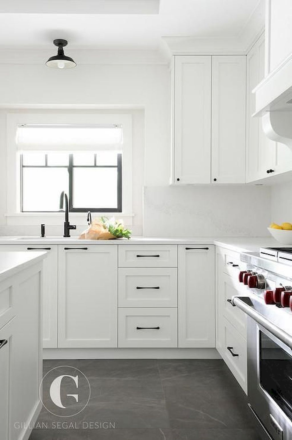 White Kitchen Designs With Beautiful Simple Accessories Part 16