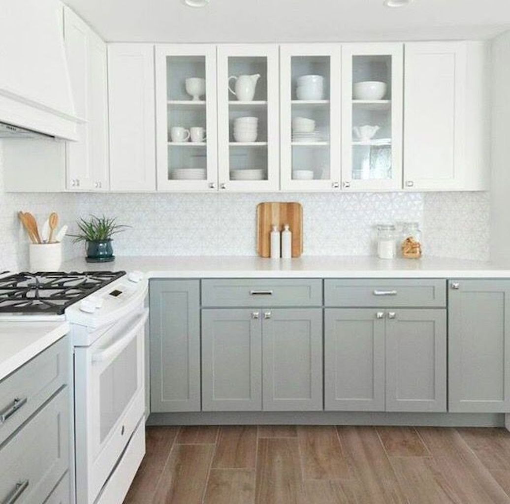 White Kitchen Designs With Beautiful Simple Accessories Part 22