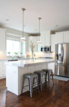 White Kitchen Designs With Beautiful Simple Accessories Part 24