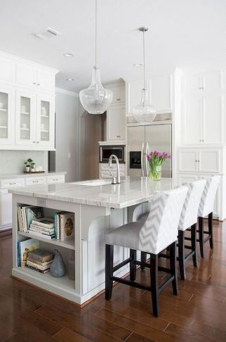 White Kitchen Designs With Beautiful Simple Accessories Part 26
