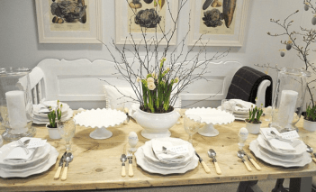 Charming Easter centerpieces and springy table decor ideas to get your Easter party hopping Part 2
