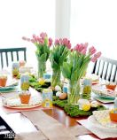 Charming Easter centerpieces and springy table decor ideas to get your Easter party hopping Part 20