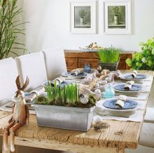 Charming Easter centerpieces and springy table decor ideas to get your Easter party hopping Part 24